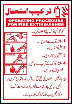 Operating Procedure Of Fire Extinguisher