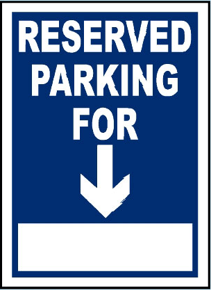 reserved-parking-for