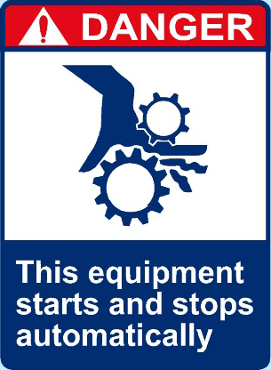 This Equipment Starts And Stops Automatically