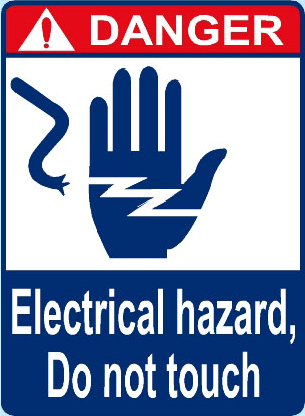 Electrical Hazard, Do No Touch