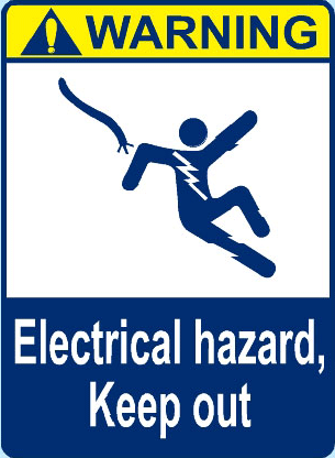 Electrical Hazard, Keep Out