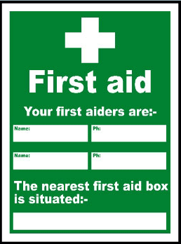 nearest first aid box