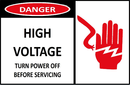 danger-high-voltage-turn-power-off-before-servicing