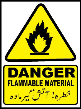 danger-flammable-material