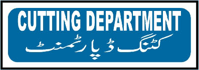 cutting-department