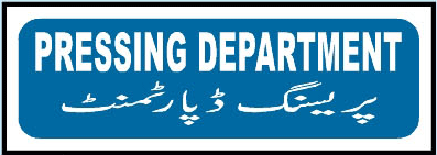 pressing-department